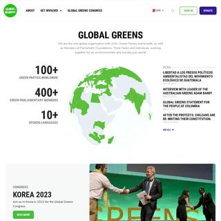 Home - Global Greens