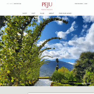 Peju Winery- Organic Wineries and Winemakers - Rutherford, Napa Valley