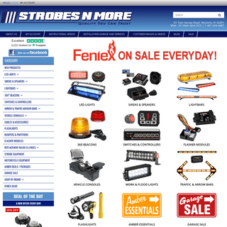 Strobes N` More LLC - Emergency, Fire, Police, Utility, Recreation LED Lights and More