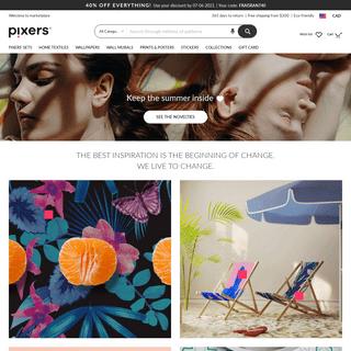Pixers® - We live to change