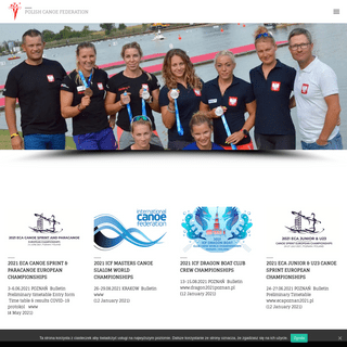Polish Canoe Federation – Polish Canoe Federation