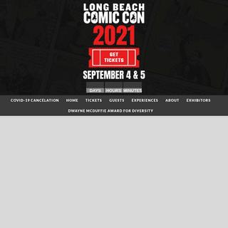 Long Beach Comic Con – Long Beach, CA