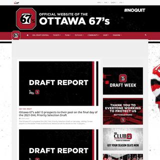 Ottawa 67s - Official site of the Ottawa 67s