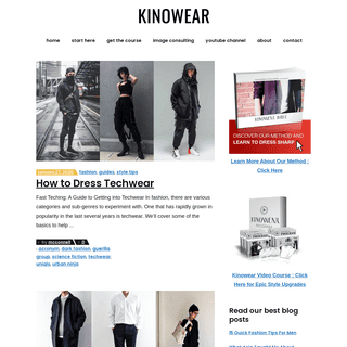 Kinowear - Make Them Look Twice