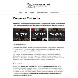 Converse Fans Colombia - !Lo Mejor de Converse!