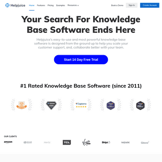 Helpjuice – Knowledge Base Software