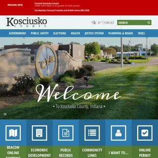Home - Kosciusko County, IN