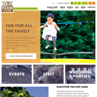 The Hop Farm - A fun family day out in the heart of Kent - The Hop Farm