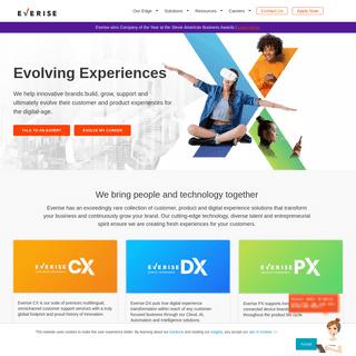 Evolving Global Experiences - Everise