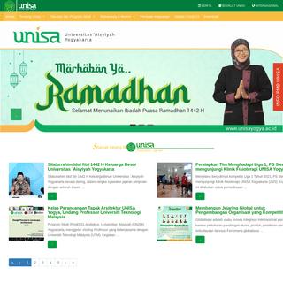 Beranda - Universitas `Aisyiyah Yogyakarta