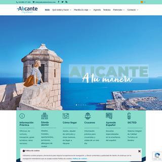 Turismo en Alicante- playas, hoteles y restaurantes, ocio y compras