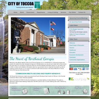 Home - City of Toccoa