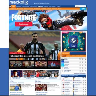 Mackolik.com - iddaa,canlı maç,iddaa sonuçları,sahadan,futbol @ Mackolik.com