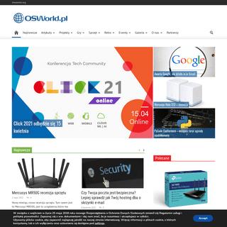 OSWorld.pl - OSWorld.pl to serwis internetowy, dzięki któremu poznasz czym naprawdę jest Open Source. Serwis poświęcony jes