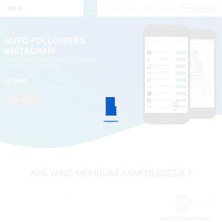 Auto Followers & Likes Instagram Indonesia - Halaman Utama