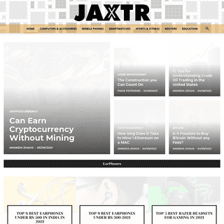 Jaxtr - 2021 Review Magazine to provide Best online shopping experience