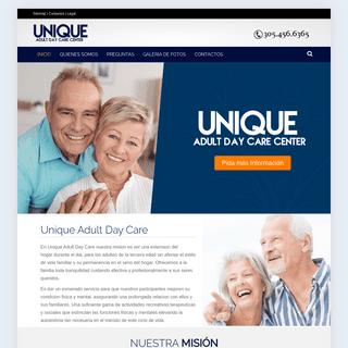 Unique Adult Care – Adult Day Care in Miami