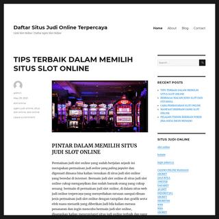 Daftar Situs Judi Online Terpercaya - Link Slot Online - Daftar Agen Slot Online