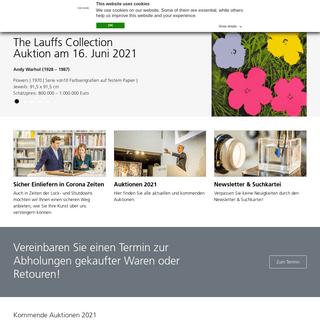 VAN HAM Kunstauktionen-Ihr internationales Kölner Auktionshaus