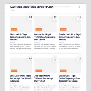 Kayatogel Situs Togel Deposit pulsa - Daftar Bandar Judi Tanpa Rekening