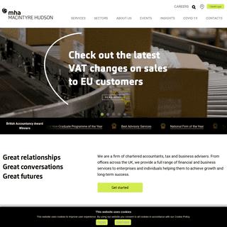 MHA MacIntyre Hudson - Chartered Accountants, Tax & Business Advisers