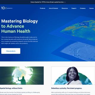 Home Page - 10x Genomics