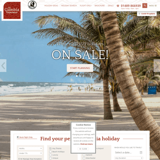 Gambia Holidays - The Gambia Experience