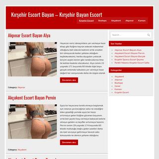Kırşehir Escort Bayan – Kırşehir Bayan Escort