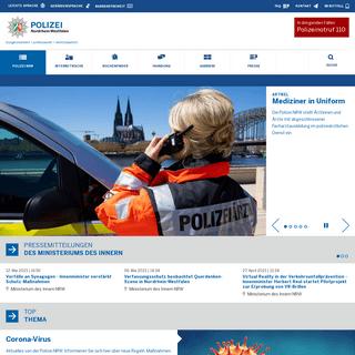 Startseite - Polizei NRW