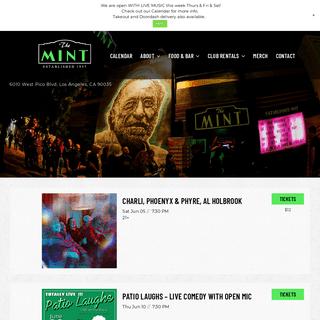 The Mint LA - Music in the Heart of LA