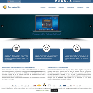 Emmabuntüs - Collective for the reuse of computers and Linux distribution based on Debian