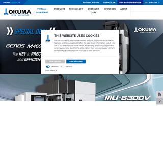 CNC Machine Tools I CNC Controls -- Okuma Europe GmbH