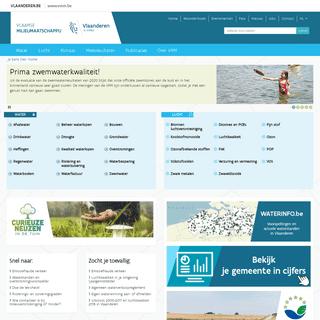 Welkom — Vlaamse Milieumaatschappij