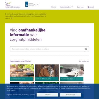Onafhankelijke informatie over hulpmiddelen - Vilans Hulpmiddelenwijzer