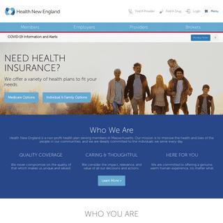 Health New England - Where you matter