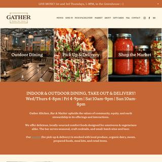 GATHER- Restaurant in Berkeley, CA