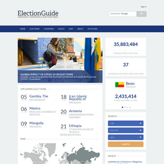 IFES Election Guide