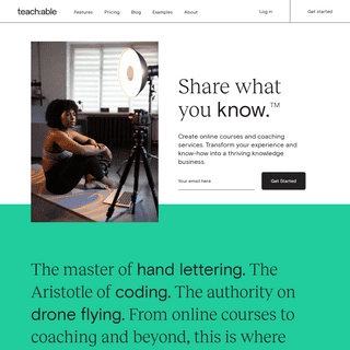 Teachable- Create and sell online courses and coaching