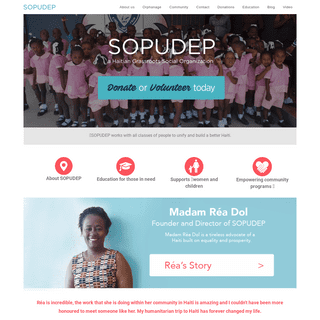 Sopudep – SOPUDEP Haitian School