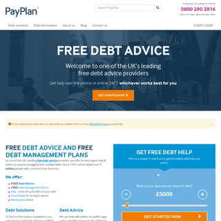 PayPlan - Free Debt Advice and Free Debt Management. IVAs & DMPs