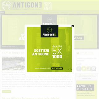 Benvenuto sul sito dell` Associazione Antigone