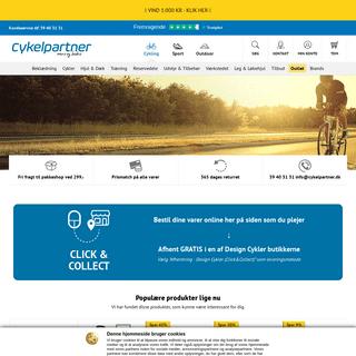 Cykelpartner.dk - mere og bedre - Cykeldele, cykeltilbehør og cykeludstyr