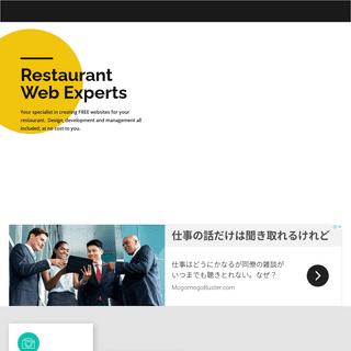 Restaurant Web Experts