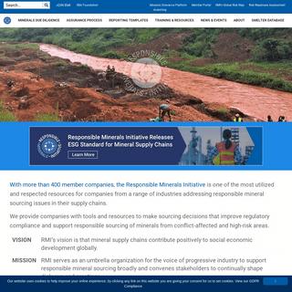Responsible Minerals Initiative