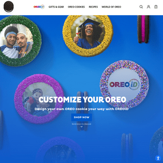 OREO - Personalized Gifts, Recipes, and More