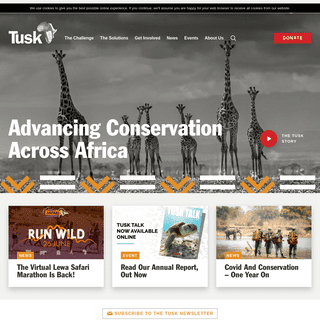 Tusk - Advancing Wildlife Conservation Across Africa