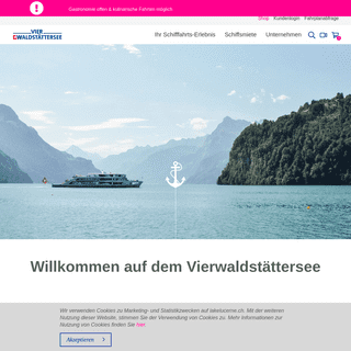 Schifffahrt Vierwaldstättersee - Lake Lucerne - SGV Luzern