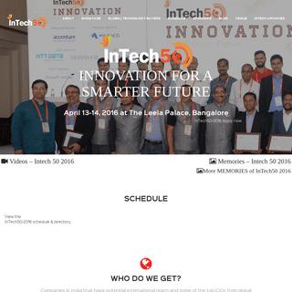 intech50.com - Innovation for a Smarter Future