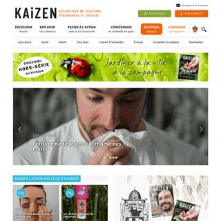 Page d`accueil - Kaizen