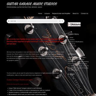 Guitar Garage - Guitar Lessons, Guitar Parts & Guitar Repairs in Langley BC